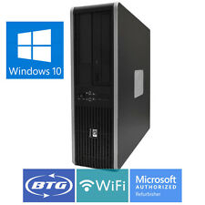 HP Desktop Computer Windows 10 PC Intel Core2Duo 1TB HD 8GB RAM WiFi DVD FAST