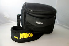 Camera bag water-resistant neoprene for small Nikon camera or accessories