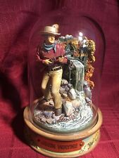Franklin Mint, Glass Domed John Wayne Movie Collectible- Cpo4952 At Waterfall