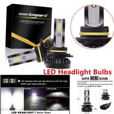 2x9012HIR2 Type LED Headlight Bulb High/Low Beam Kit COB REE Flip Chip Long Life
