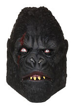 Adult Zombie Gorilla Mask Psycho King Kong Ape Halloween Fancy Dress Accessory