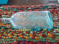 "Vintage Lydia E. Pinkham""s Blood Purifier Colored Bottle"