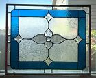 """Stars Over Bristol-Stained Glass Window Panel 22 3/4"""" x 18 3/4"""""""