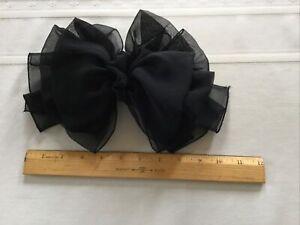 big bow hair clip