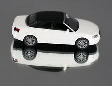 Wiking 013237/0132 37 (H0, 1:87) Audi A4 Cabriolet Closed Ibis White New