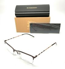 Burberry BE 1278 1012 Brown Women's Authentic Eyeglasses Frame 53-17