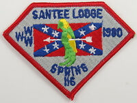 OA Lodge 116 Santee eX1980-1, Fdl; Spring Fellowship [D1720]