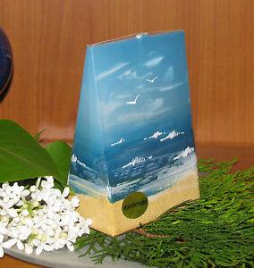 Design-Kerze*maritim* Möwen,Wolken,Meer&Strand verschied.Größen&Formen*sehr edel