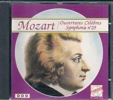CD CLASSIQUE--MOZART--OUVERTURE CELEBRES SYMPHONIE 29