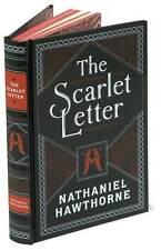 The Scarlet Letter Hardcover Leatherbound by Nathaniel Hawthorne