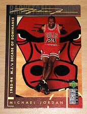 Michael Jordan 1994 Collector Choice DECADE OF DOMINANCE GOLD SIGNATURE CARD