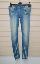 "Womens Jeans Azul Core espíritu por demobaza tamaño cintura 27"" G051"