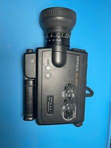 Camera Item-Minolta XL 401 Super 8 Movie Camera For Repair/ Parts