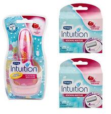Schick Intuition Renewing Moisture Care Pack 1 Razor Handle + 8 Cartridges