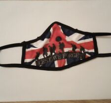 Lest We Forget Soldiers Poppy Rememberance  British Army Face Covering Mask