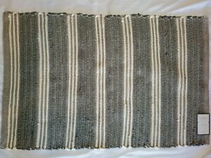 """Threshold Accent Rug Woven Grey 24"""" x 36"""""""