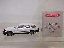 eso-3872Wiking 1:87 Mercedes 230 TE weiß sehr guter Zustand