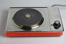 Elektro Kochplatte Orange 70er Retro Kocher