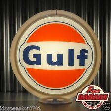 """Gulf Gasoline - 13.5"""" Gas Pump Globe -  Made by Pogo's Garage"""