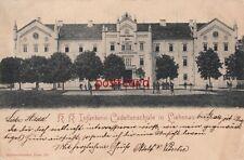 AUSTRIA Graz Liebenau KK Infanterie Cadettenschule Franz Iosephl Strohschneider