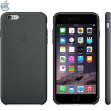 Official Genuine Apple iPhone 6s 6 Plus Silicone Cover Case Black Elegant Sleek