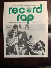 Original Vintage The Band Yes 1972 WNCI Radio Columbus Ohio Top Music Survey