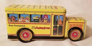 MCDONALDLAND BUS COMPANY COLLECTOR TIN - 1997