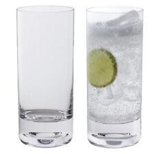Dartington Crystal Circle Barware Highball Glasses (Pair)
