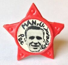 Pat Crerand Star Badge Collectible Manchester United Pin
