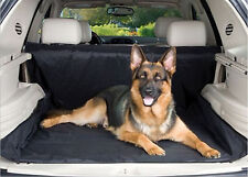 Black Rear Seat Pet Dog Mat Liner Water Resistant Dust Dirt Protector For SUV