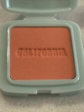 Benefit Galifornia Pressed Powder blush(coral) deluxe mini Travel Size 0.09