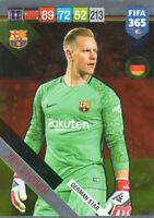 PANINI ADRENALYN XL FIFA 365 2019 MARC ANDRE TER STEGEN GERMAN STAR CARD