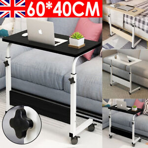 Laptop Table Computer Notebook Desk Adjustable Portable Trolley Sofa Bed Tray UK