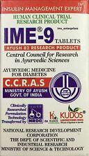 6X Kudos IME-9 TABLETS HERBAL Blood Glucose Metaboliser Ayurvedic - 60 Tablet