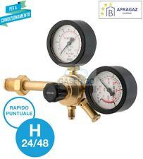 RIDUTTORE DI PRESSIONE PROFESSIONALE AZOTO 60 BAR GAS COMPRESSI FINO 300 BAR