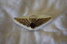 Canadian Forces Airborne Para Red Leaf Metal Wing Full Size
