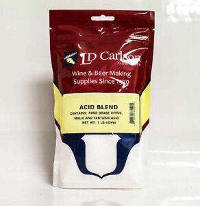 Acid Blend, 1lb-Acid Blend. Fresh Food Grade Acid Blend,Tartaric,Citric, & Malic