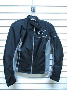 Women's AlpineStars Black & Gray Motorcycle Jacket