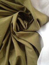 40 Metres Country Hunt Green Quality Curtain Fabric Fireproof Dupion Faux Silk