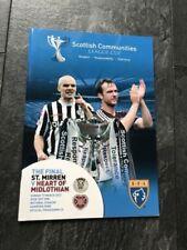 Away Teams F-K Heart of Midlothian Scottish Cups Football Programmes