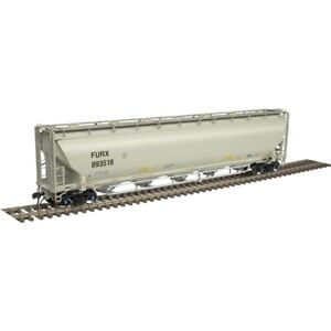 FIRST UNION RAIL HO TRINITY 5660 PRESSURE DIFFERENTIAL COVERED HOPPER CAR-ATLAS