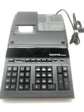 Monroe Ultimate Business Printing Heavy Duty On Desk Calculator  - Black