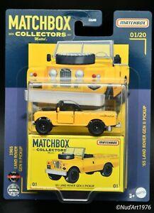 MATCHBOX '65 LAND ROVER GEN II  - 2021 - n°1/20 - NEW Matchbox Collectors -