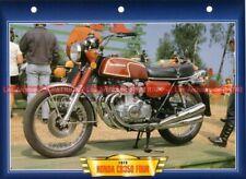 HONDA CB 350 Four 1972-1974 Fiche Moto #003174