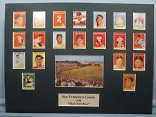 San Francisco Giants led by Willie Mays - 1958 First Year in San Francisco