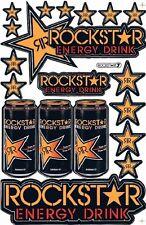 19 x  ROCKSTAR Energy Supercross Sticker Aufkleber, Set 27 x 18 cm neu 040