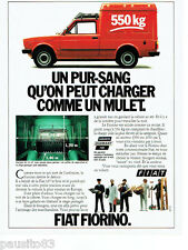 PUBLICITE ADVERTISING 066  1980   la Fiat  Fiorino 550   fourgon