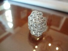 #-145--CN-FZN STERLING SILVER RING 925-LOTS OF STONES--LOOKS LIKE A 100000.00