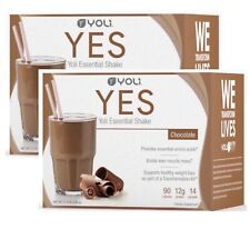 2 PACK! Yoli - Yes Protein Shake Packets Chocolate Brand New Sealed