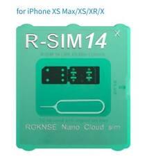 R-SIM14 V18 ICCID Smart Unlock SIM Card for iPhone XR/7/8 Mobile Phone Card Tool